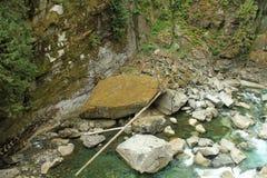 河从上面 免版税图库摄影