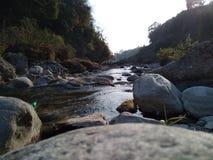 河令人敬畏的看法  免版税图库摄影