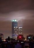 河内地标晚上塔 库存照片