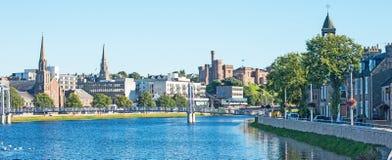 河内斯和因弗内斯城堡 免版税库存照片