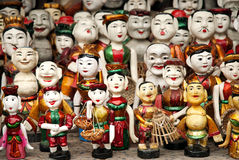 河内木偶传统越南 图库摄影