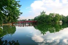 河内湖剑 库存照片