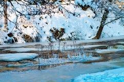 冻河凯伊拉 库存图片