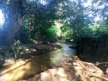 河十字架领域 图库摄影