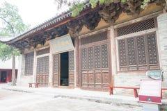 河南,中国- 2015年11月04日:会善寺(联合国科教文组织世界遗产名录 免版税图库摄影