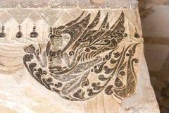 河南,中国- 2015年10月03日:在巩县洞穴的安心 一famou 库存照片