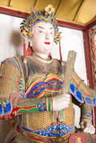 河南,中国- 2015年10月30日:诸葛商代雕象南阳的Mem 图库摄影