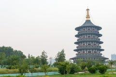 河南,中国- 2015年7月07日:隋和唐代洛阳市Na 库存图片
