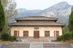 河南,中国- 2015年11月04日:Qimu阙门(联合国科教文组织世界遗产名录 免版税库存图片