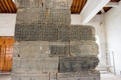 河南,中国- 2015年11月04日:Qimu阙门(联合国科教文组织世界遗产名录 免版税库存照片