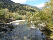 河和山 免版税库存照片