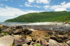 河和海 免版税库存照片