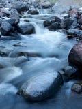 河和石头 库存图片
