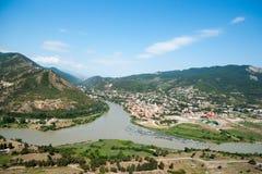 河在乔治亚 库存照片