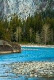河在加拿大 免版税库存照片