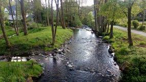河在南德国 库存图片