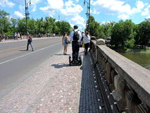 河在布拉格 免版税库存照片