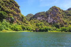 河在的Trang 免版税库存照片