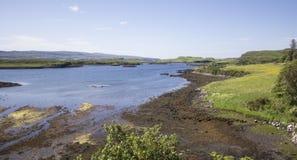 河在苏格兰 免版税库存图片