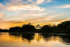 河在远东 免版税库存图片