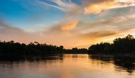 河在远东 免版税库存照片