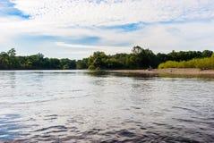 河在远东 库存图片