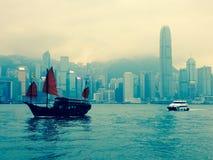 河在香港 免版税库存照片