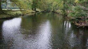 河在Cumbria 库存图片