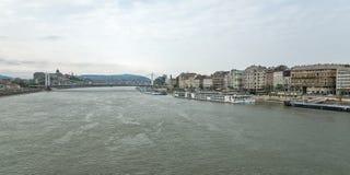 河多瑙河在布达佩斯匈牙利04 免版税图库摄影