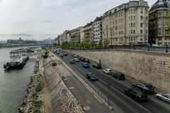 河多瑙河在布达佩斯匈牙利01 库存图片