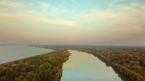 河多瑙河视图 股票录像