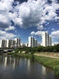 河天气 库存图片
