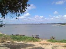 河奥里诺科河委内瑞拉 免版税图库摄影