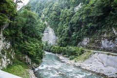 河山 库存照片
