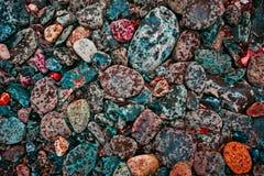 河岩石 图库摄影