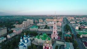 河岸的修道院 坦波夫 Russia_03 影视素材