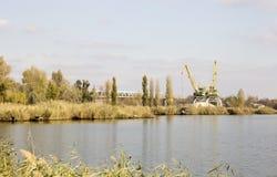 河岸,河风景 库存照片