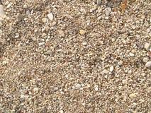 河平稳的石头 免版税图库摄影