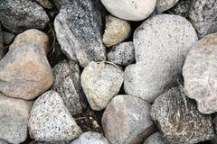 河床岩石 库存照片