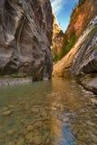 河床石头 库存图片