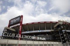 河床队体育场在布宜诺斯艾利斯,阿根廷 免版税库存图片
