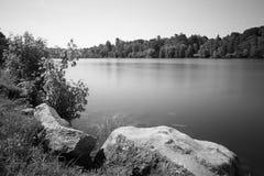 河提契诺州 免版税图库摄影
