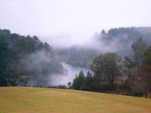河春天taupo上升暖流 库存图片