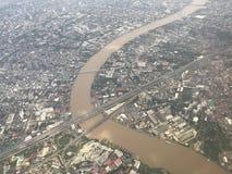 河是生活 免版税库存照片