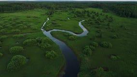 河有许多道路 股票录像