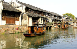 河村庄在中国 免版税库存图片