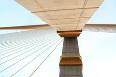 河桥梁在泰国 库存图片