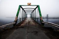 河桥梁 库存照片