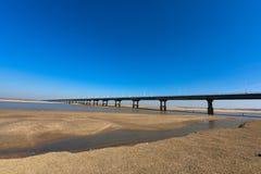 黄河桥梁 库存图片
