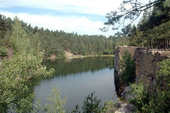 河横向 库存图片